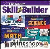 Southwestern Skill Builder Software Multi-Pack: Mind Power High School Science, Mind Power High School Algebra, I Can Speak 10 Language Pack, Student Writing Center, Print Shop Essentials (Grades 7-12)