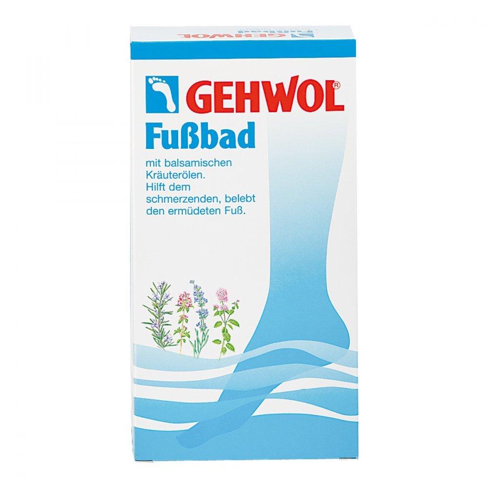 Gehwol, preparato per pediluvio in sacchetti monodose, 10 sacchetti da 20 g (etichetta in lingua italiana non garantita) Eduard Gerlach GmbH