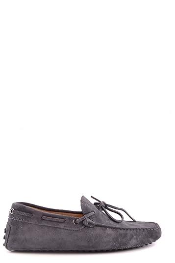Men's MCBI293142O Blue Suede Loafers