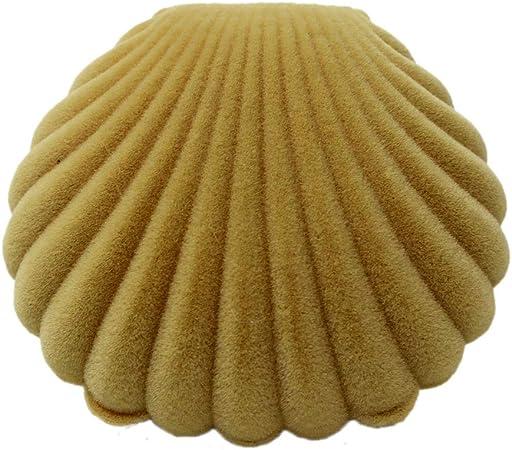 TOPBATHY Forma de Concha Caja de Regalo de joyería Anillo Collar Pulsera Broche Colgante Pendientes Caja de Almacenamiento Organizador (Rosa): Amazon.es: Hogar