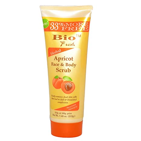 Buy Bio Fresh Apricot Face And Body Scrub 212 Gm Online At Low