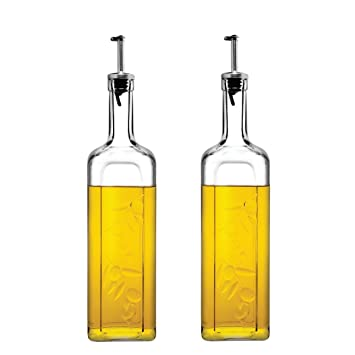 Pasabahce Homemade Kitchen Oil Dispenser ,500 Ml , Set Of 2