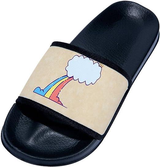 gordonKo Mens Slides Sandals Indoor Bath Shower Slippers Outdoor Pool Beach Swimming Shoe