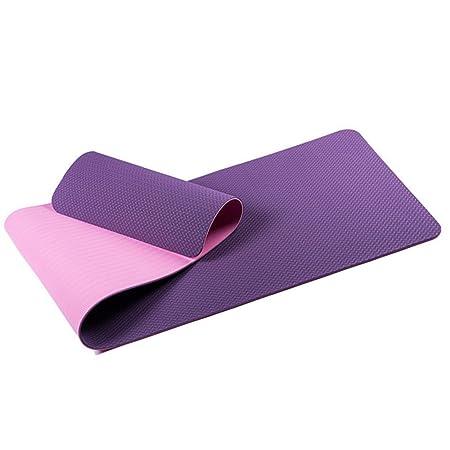 Wenzhihua Estera de Yoga Yoga Mat Tpe6mm Respetuoso del ...