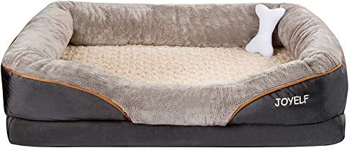 JOYELF-Orthopedic-Dog-Bed-Memory-Foam-Pet-Bed
