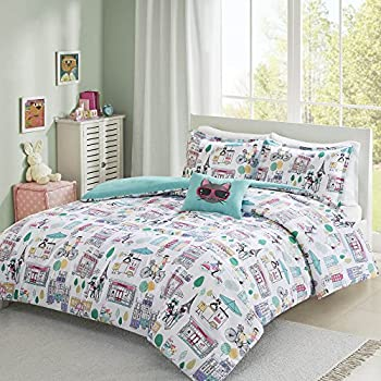 Amazon Com Twin Bedding Girls Comforter Bed Set Paris
