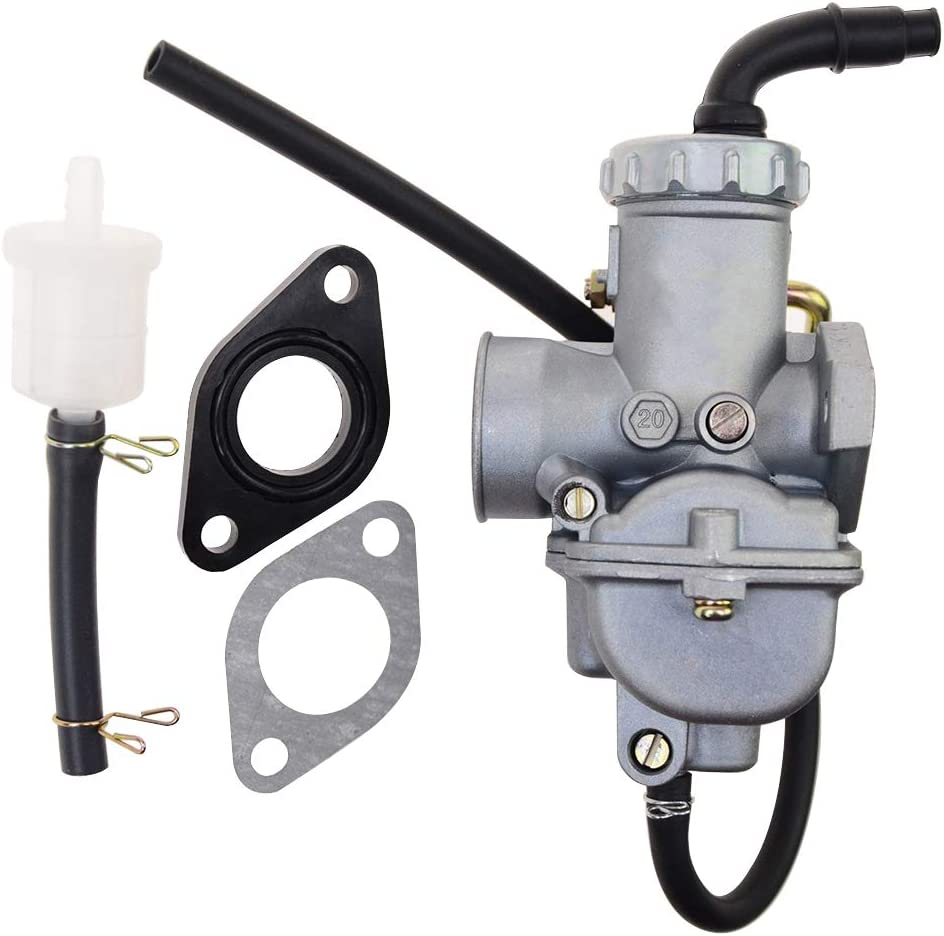 GOOFIT PZ20 carburatore carburatore per Quad Go Kart Utv Coolster Roketa Taotao MTB MTB Quad Go Go 50C 70CC 90CC 110CC 125CC Quad Go Go