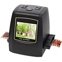 Digitnow All-in-One High Resolution 22MP Film &Slide Scanner,Converts 35mm, 126, 110, Super 8 & 8mm Film Negatives & Slides to JPEG,Impressive 128MB Built-in Memory