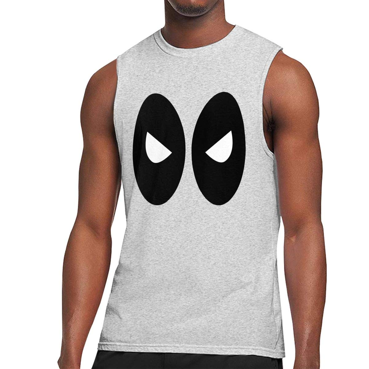 Death Stare Mens Sleeveless Activewear Top Jersey