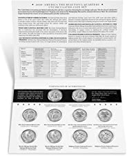 2020 P, D National Park Quarter 10 Coin Set Special Issue Uncirculated