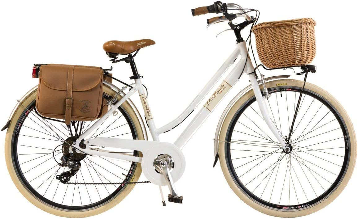 Via Veneto by Canellini Bici V/élo Citybike Byciclette CTB Femme Dame Vintage Retro Via Veneto Aluminium