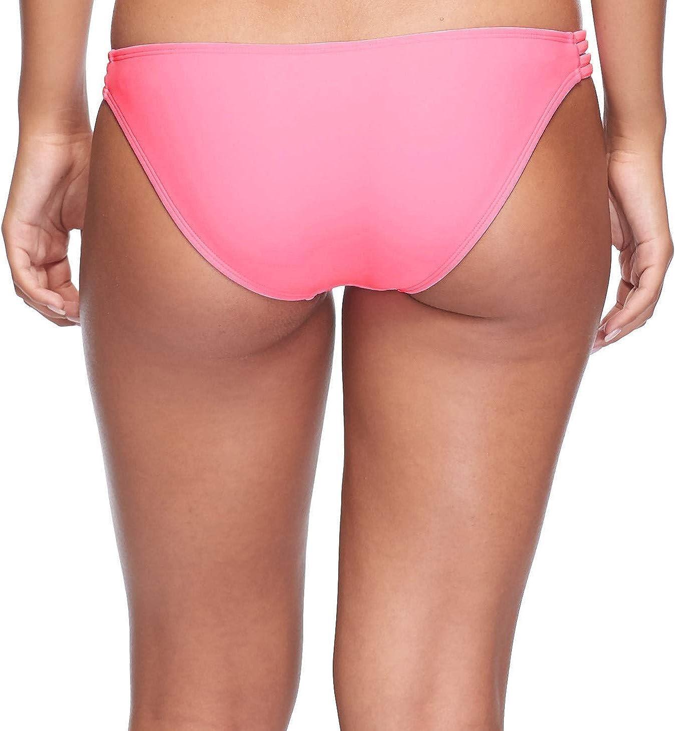 Body Glove Womens Smoothies Flirty Surf Rider Solid Bikini Bottom Swimsuit