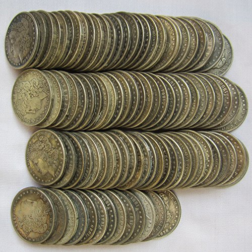 1878-1921 96PCS USA Morgan Dollar coins COPY