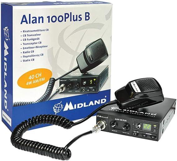 Cb Midland Alan 100 Plus B Radiosender Cod C442 11 Heimkino Tv Video