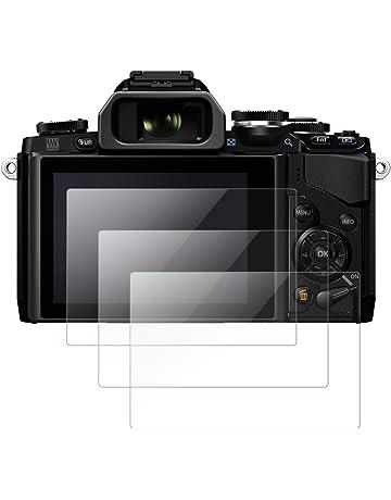 3 x Nuevo Claro Lámina Film Protector de Pantalla LCD para Nikon D500