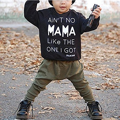 baby kids toddler boy girl printed tops pants leggings