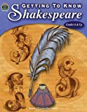 Getting to Know Shakespeare, Teacher Created Resources Staff, 0743932862