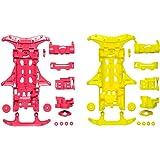 タミヤ ミニ四駆特別企画商品 VS 蛍光カラーシャーシセット ピンク・イエロー 95356