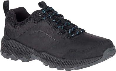 b17a1c24e0c9e2 Merrell Forestbound J77285 Outdoorschuhe Wanderschuhe Trekkingschuhe Herren  J77285 Black (Leather