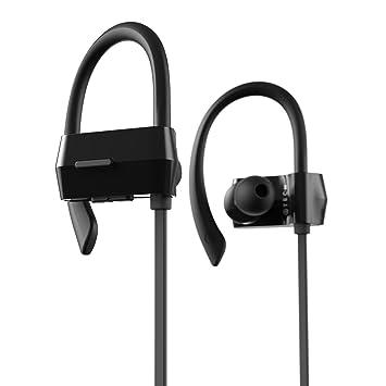 ATECH INNOVATION Deportes Auriculares Bluetooth 4.1 Auriculares inalámbricos con micrófono Ipx4 Auriculares antideslizantes para gimnasio Running Workout ...