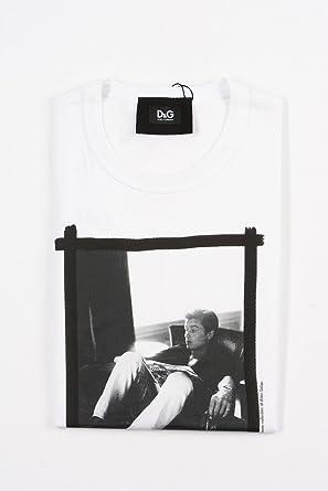 1a59098b051458 ドルチェ&ガッバーナ (DOLCE   GABBANA) プリント Tシャツ 半袖 Alain Delon
