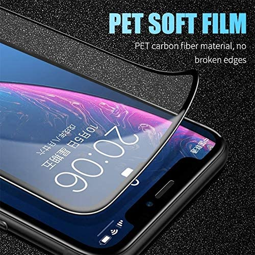 Super Clear and dura 25 PCS 2.5D Full Glue Full Cover Ceramics Film for Huawei P30 yf Easy to Install