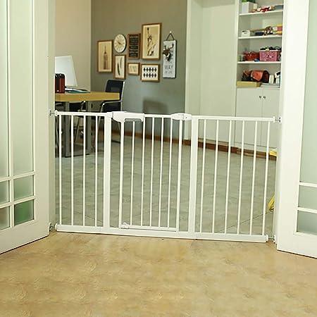 Puertas De Seguridad for Bebés, Puerta for Perros Extra Alta Y Súper Ancha con Puerta, Puerta