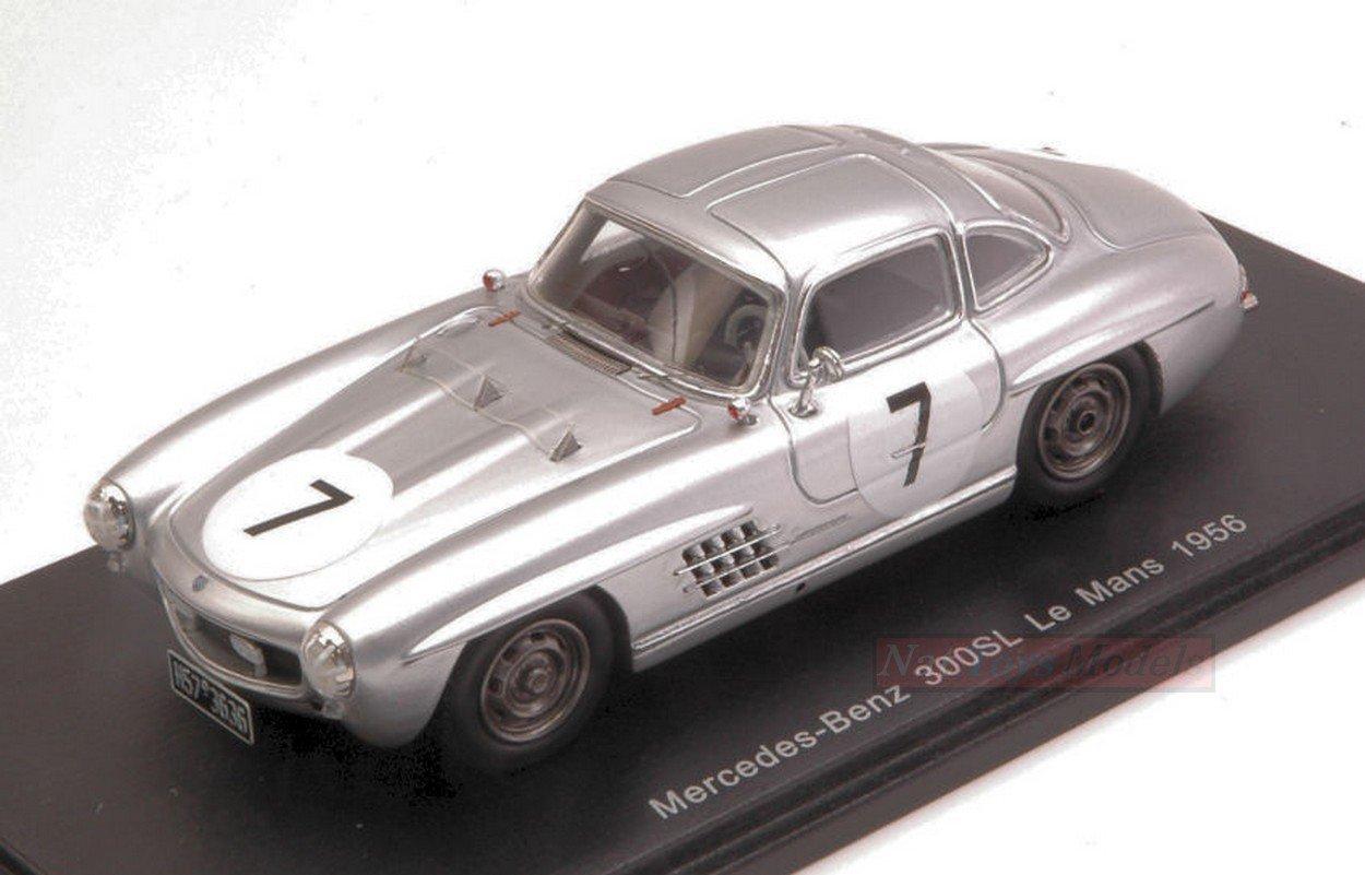Spark Model S4410 Mercedes 300SL N.7 DNF LM 1956 Prince METTERNICH 1:43