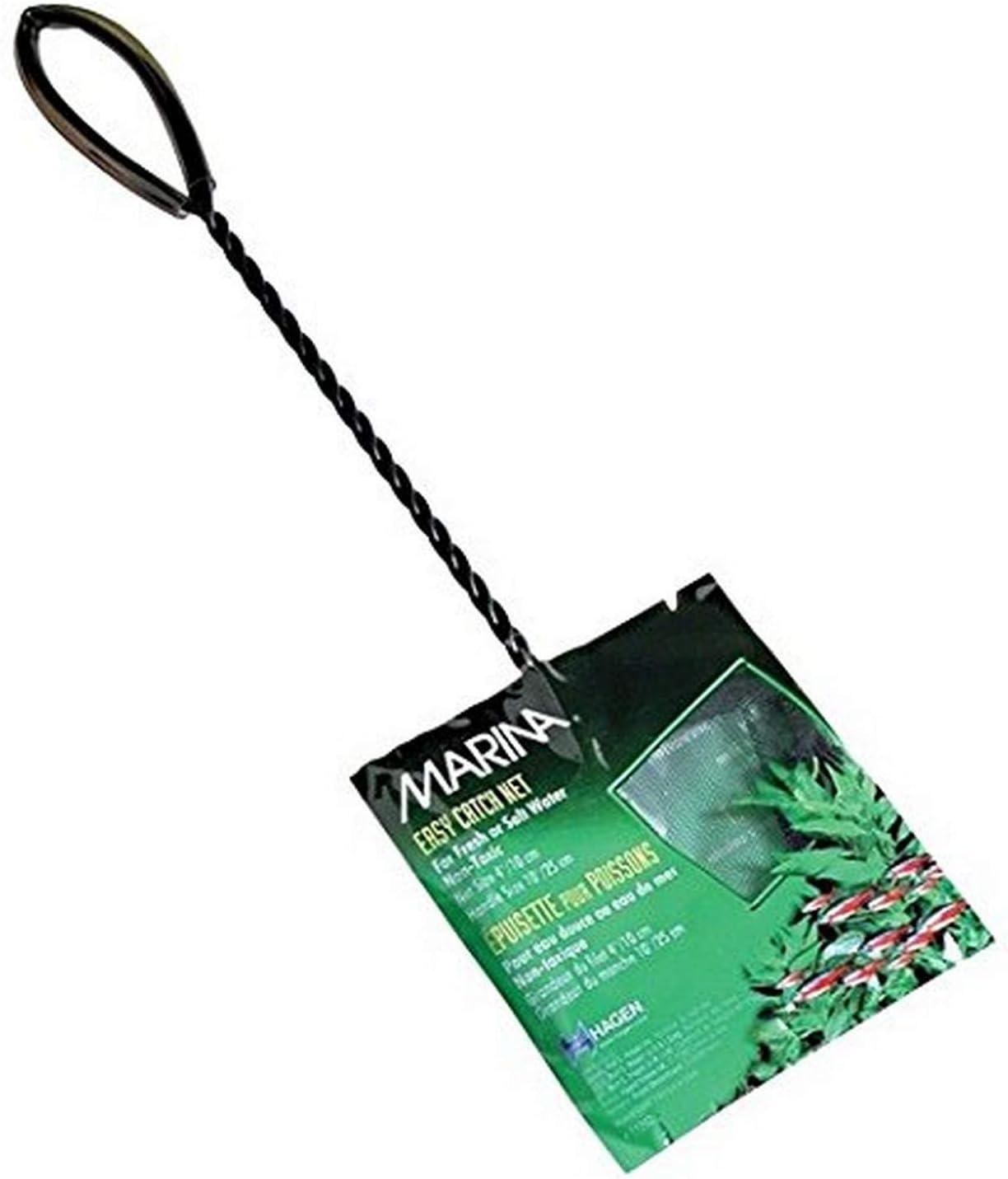Marina 2 Inch Black Coarse Nylon with 10 Inch Handle