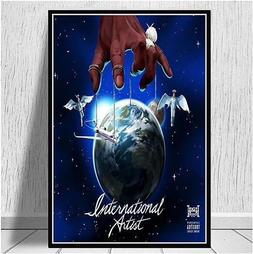 A Boogie wit da Hoodie Hoodie SZN Cover Poster Album Art Print 20×20 24×24 32×32