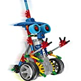 LITAND Alien Toys for Kids / Robotic Building Set / Battery Powered Robotic Kits / 3d Puzzles for Kids, 122 Parts(knight)