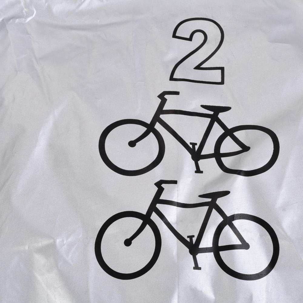 Opuko Universal 2 Bike Cover Waterproof Nylon Protector for Outdoor with Bag