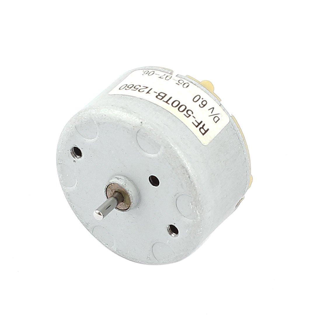 sourcingmap 3V-12V 18000 TR/MIN 32mm Diamètre DIY Jouets Magnétique Micro moteur à courant continu a15071800ux0228