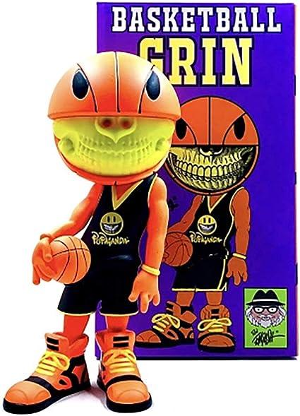 Ron English Basketball Grin Designer Figura de Vinilo: Amazon ...