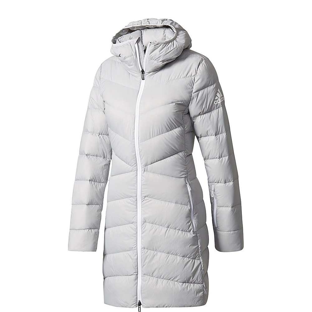 adidas outdoor Womens Climawarm Nuvic Jacket (S - Grey Two)