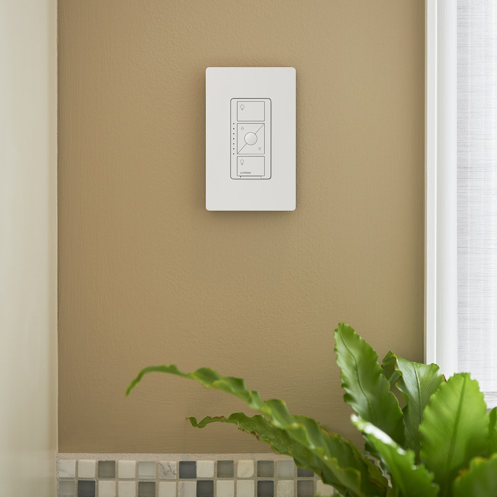 Lutron PD-5NE-WH ELV Caseta Wireless Electronic Low Voltage In-Wall Dimmer 1 Pack White by Lutron (Image #4)