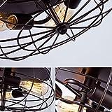 YOBO Lighting Oil Rubbed Bronze Flush Mount Ceiling