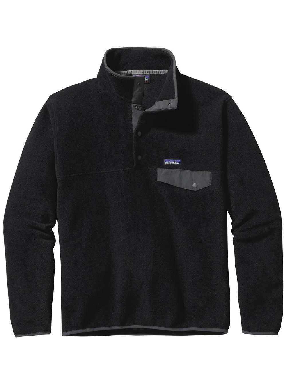 (パタゴニア)patagonia フリース Ms LW シンチラスナップT P/O 25580 [メンズ] B00OZGXS1S XL|Black/Forge Grey Black/Forge Grey XL