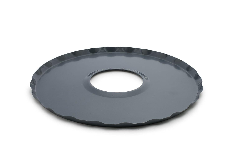Fox Run 4574 Oven Guard/Drip Catcher, Carbon Steel, Non-Stick, 12-Inch