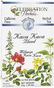 Celebration Herbals, Tea Kava Kava Organic, 24 Count