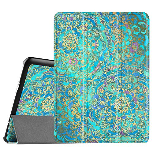 Fintie Slim Shell Case for Samsung Galaxy Tab S2 9.7 - Ultra Lightweight Protective Stand Cover with Auto Sleep/Wake Feature for Samsung Galaxy Tab S2 9.7 Inch Tablet, Shades of Blue