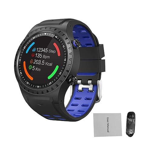 Reloj multifunción, SMA-M1 GPS Reloj deportivo Llamada Bluetooth Modo multideportivo Brújula Altitud,