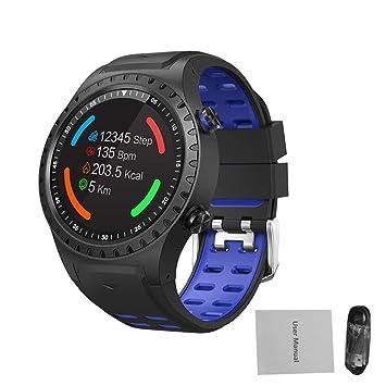 Globalqi Smartwatches Reloj Inteligente Deportes al Aire Libre Reloj Deportivo SMA-M1 GPS Llamada Bluetooth Modo Multi-Deporte Compás Elevación: Amazon.es: ...