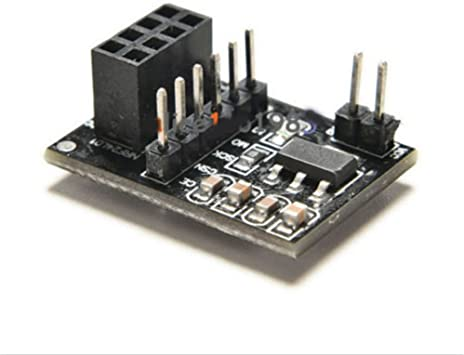 Wireless Transceive module 10PCS Socket Adapter plate Board f 10 Pin NRF24L01