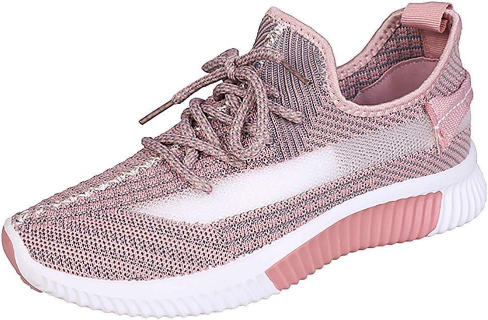 QIUSge_Women Boots Shoes Zapatillas Deportivas para Mujer, de Malla Transpirable 2019, para Uso al Aire Libre, para Estudiantes, Casuales, para Correr, Fitness: Amazon.es: Hogar