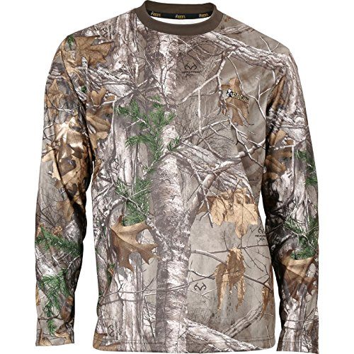 Rocky Men's Silent Hunter Long-Sleeve Performance Shirt, Realtree Extra Camouflage, XX-Large