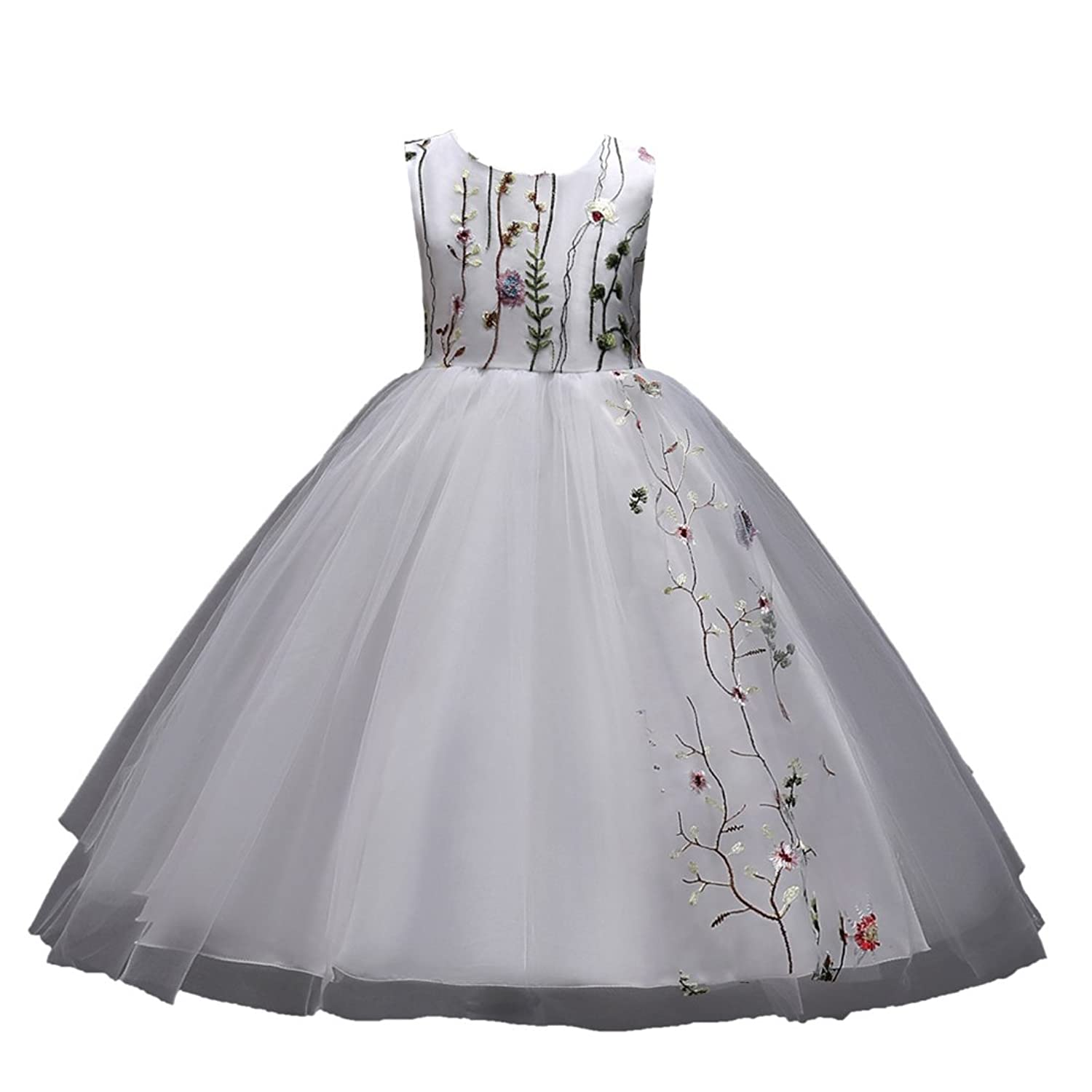 ADHS Kids Baby Girl Special Occasion Wedding Gowns Party Flower Dresses
