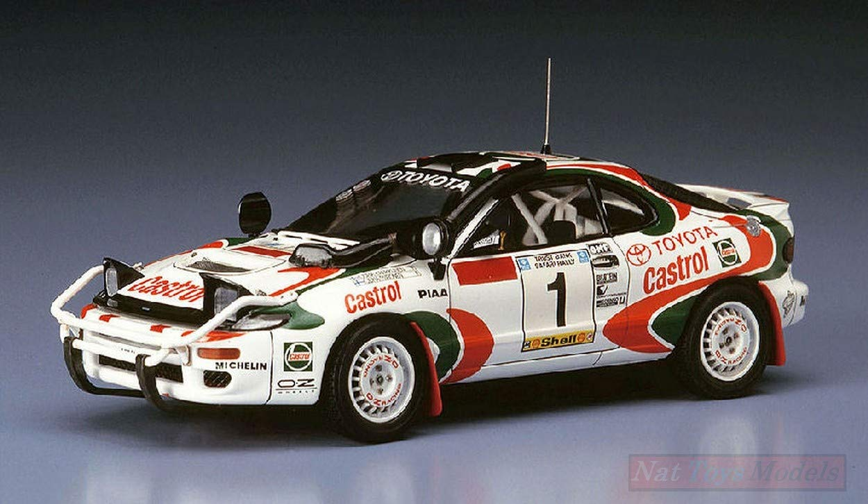 Hasegawa HA20309 Toyota CELICA Turbo 4WD N.1 Safari Rally 1993 Kit 1 24