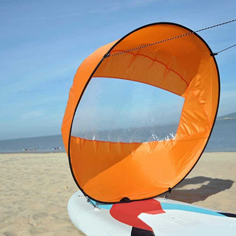 Accessoires Et Maintenance Taille Unique Gcdn Pliable Kayak Sail Paddle Voile Kayak Voile Kayak Pliable Avec Sac De Rangement Pliable Canoe Voile Transparent Avec Accessoires Pour Kayaks Bateaux Gonflables Orange Canoes Sports