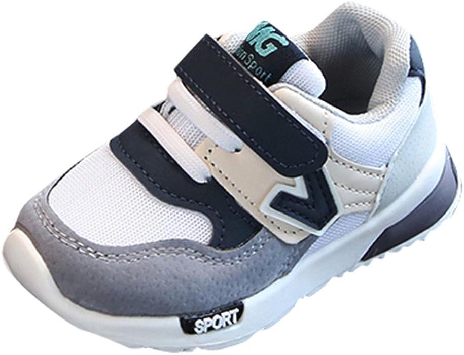 Zapatos De Bebé,ZARLLE Zapatos para Bebé para NiñA Y NiñOs Rejilla Zapatos De NiñIto Antideslizante Breathable Alfabeto Casual Calzado De Deportes Mocasines ...